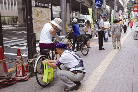 自転車の 幡ヶ谷 自転車 : 一般財団法人 東京都交通安全 ...